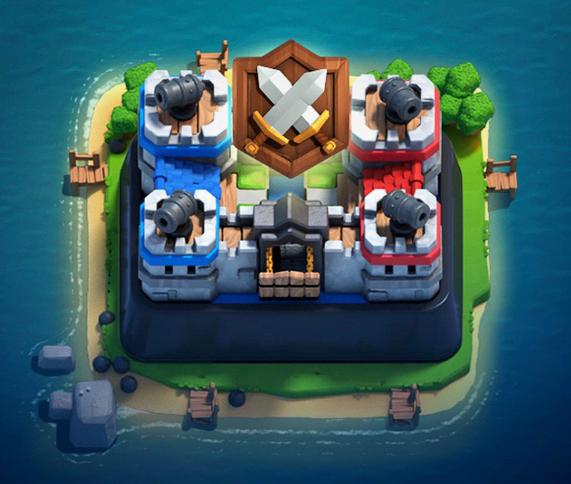 Новая Клановая арена в Clash Royale