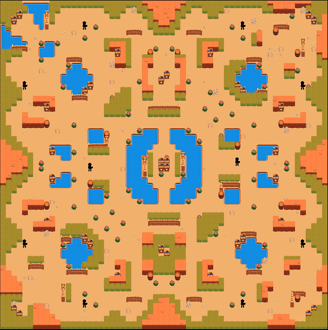 Новая карта для режима выживания в Brawl Stars