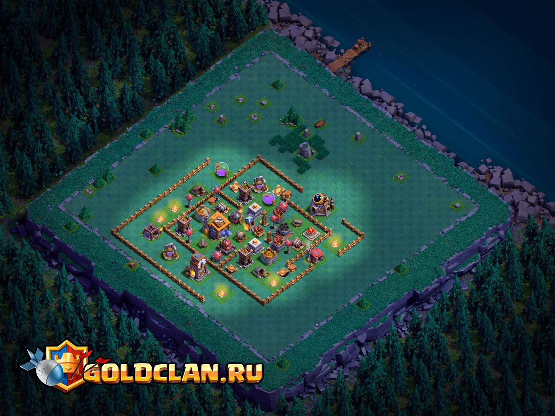 Расстановка для деревни строителя 7