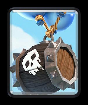 Skeleton barrel/ Бочка со скелетами - Clash Royale