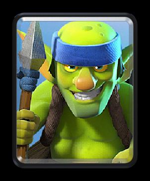 Spear goblins/ Гоблины копейщики - Clash Royale