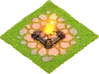 10 уровень военного лагеря в Clash of Clans