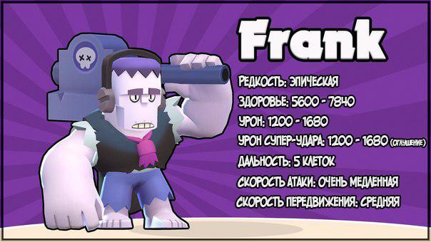 Frank - Brawl Stars