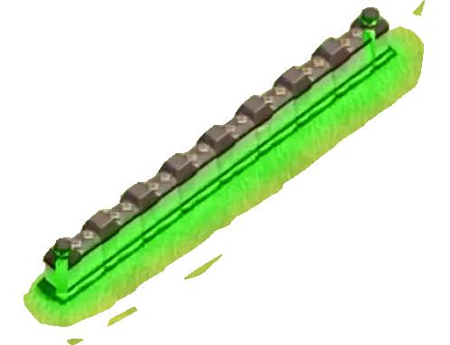 Новый забор на ТХ 12