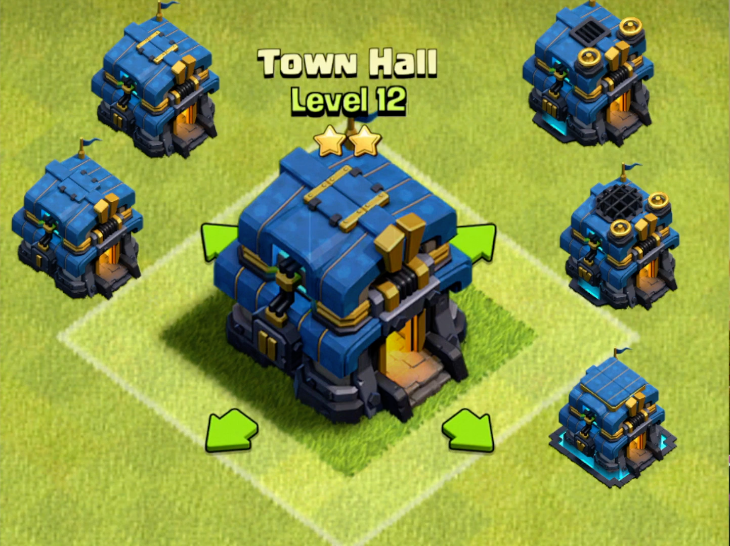 Town Hall 12 - 5 уровней