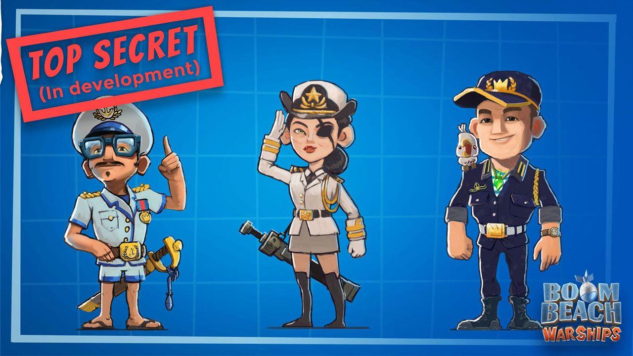 Новые герои в Boom Beach