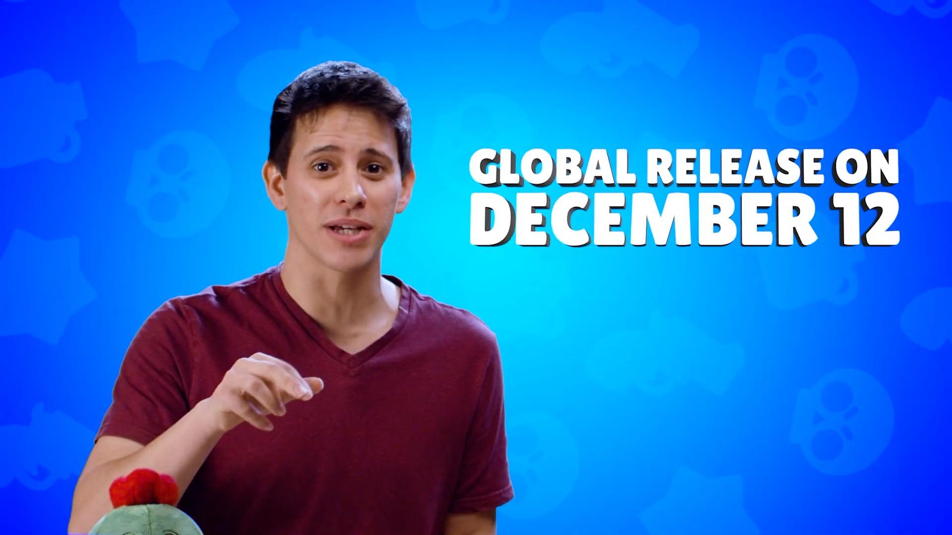 Глобальный релиз Brawl Stars 12 декабря