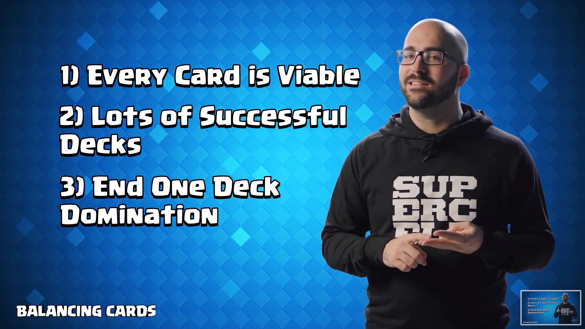 Seth об изменении баласе карт в Clash Royale