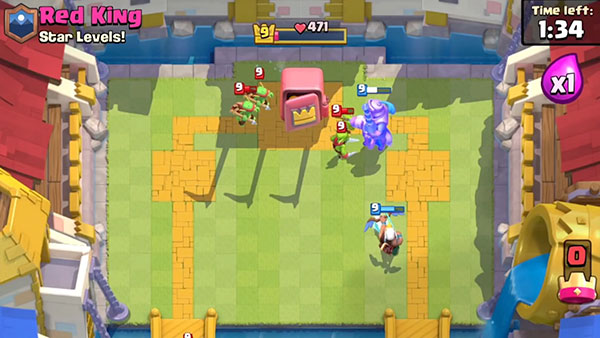 Новая карта в Clash Royale