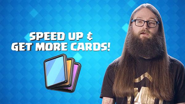 Ускорение запроса карт в Clash Royale