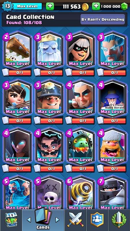 108 карт на сервере Nulls Royale