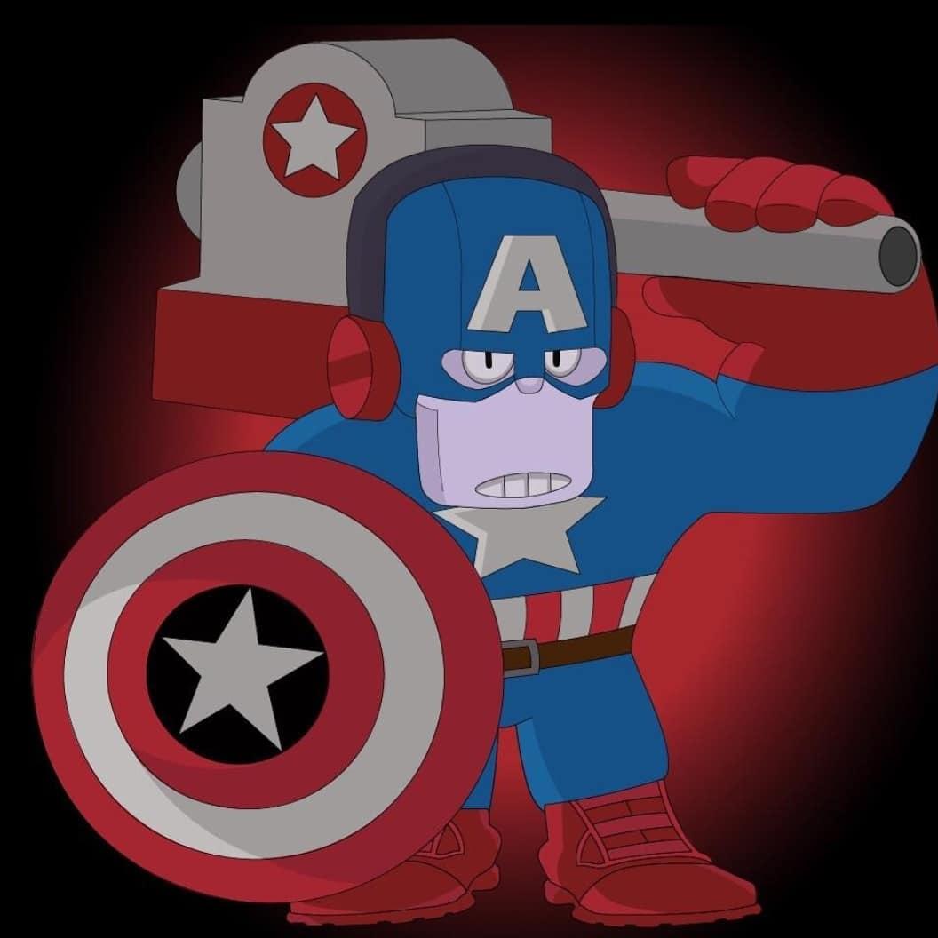 Фрэнк капитан Америка - Brawl Stars
