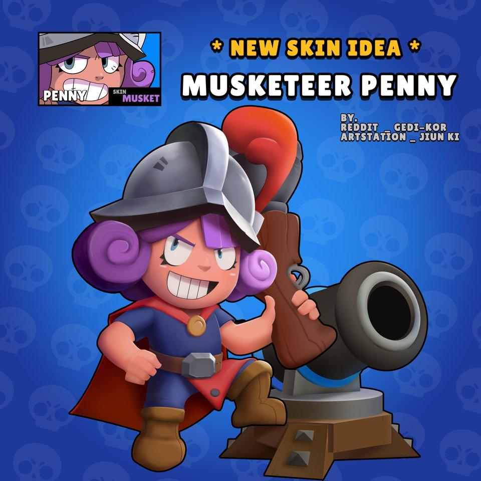 Мушкетер Пенник/ Musketeer Penny - Brawl Stars