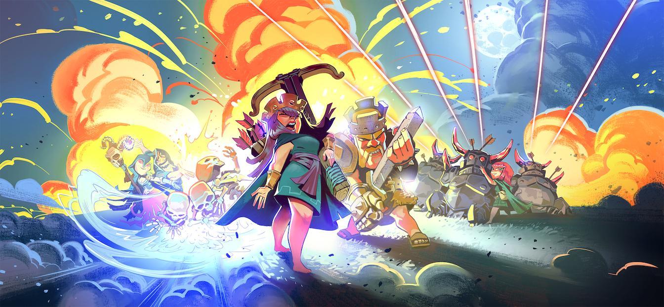 Апрельский загрузочный экран в Clash of Clans