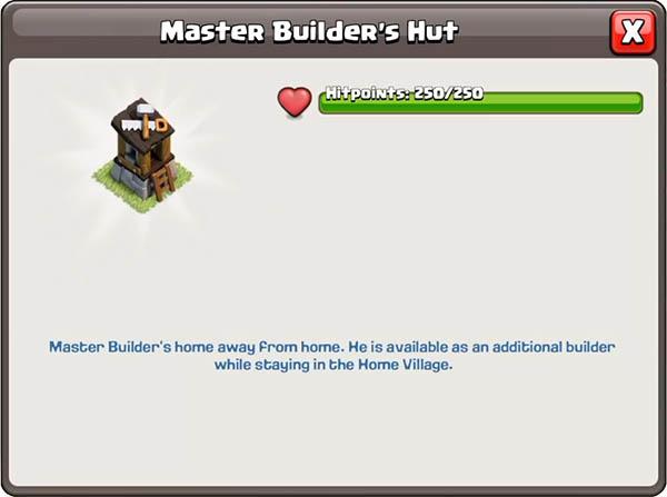 Хижина мастера строителя