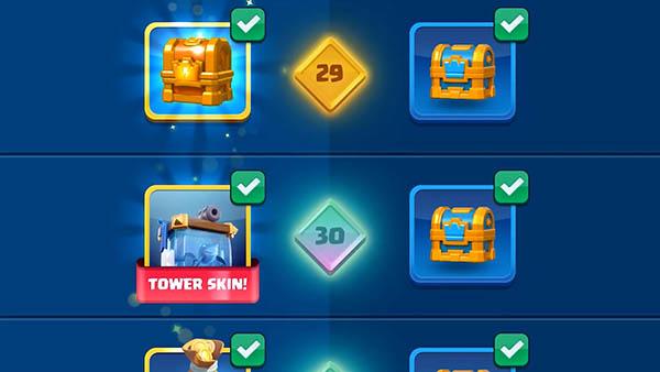 Новые награды и скины башен
