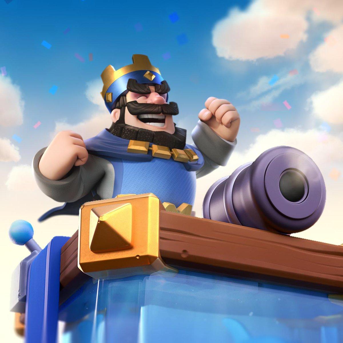 Новые скины для башни короля в Clash Royale