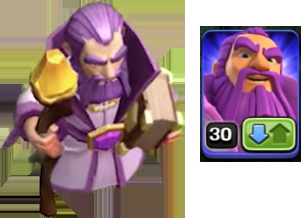 Новый хранитель в Clash of Clans
