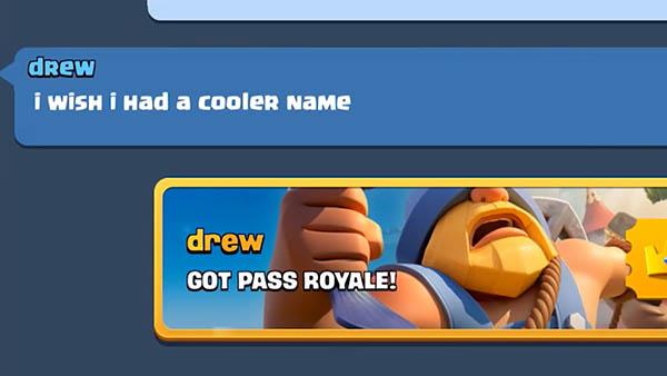 Уникальный шрифт для имени игрока в Clash Royale