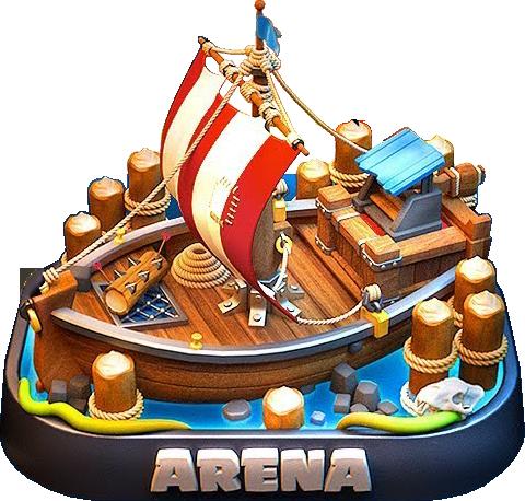 Новая водная арена в Clash Royale