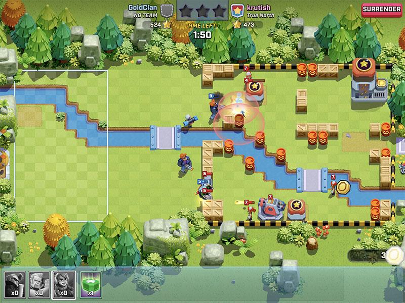 Атака в Rush Wars