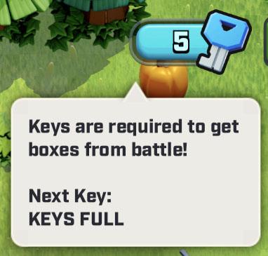 Ключи для открытия ящиков в Rush Wars