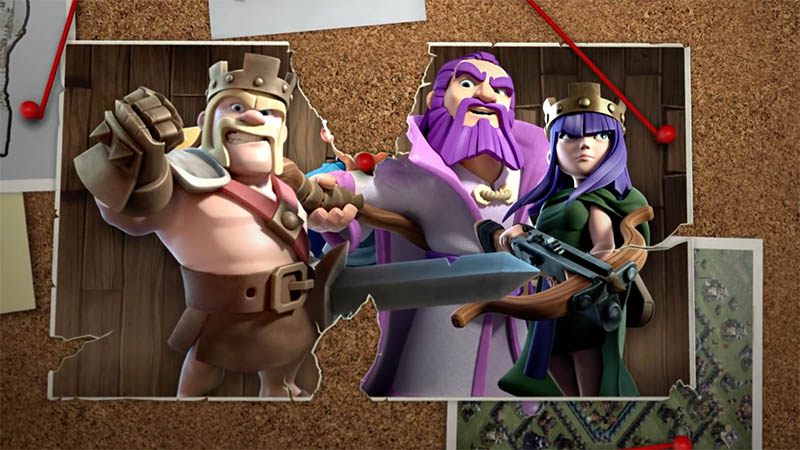 Новый 4-й герой в Clash of Clans