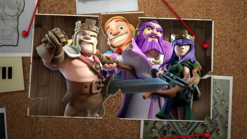 Новый герой строитель в основной деревне - Clash of Clans копия