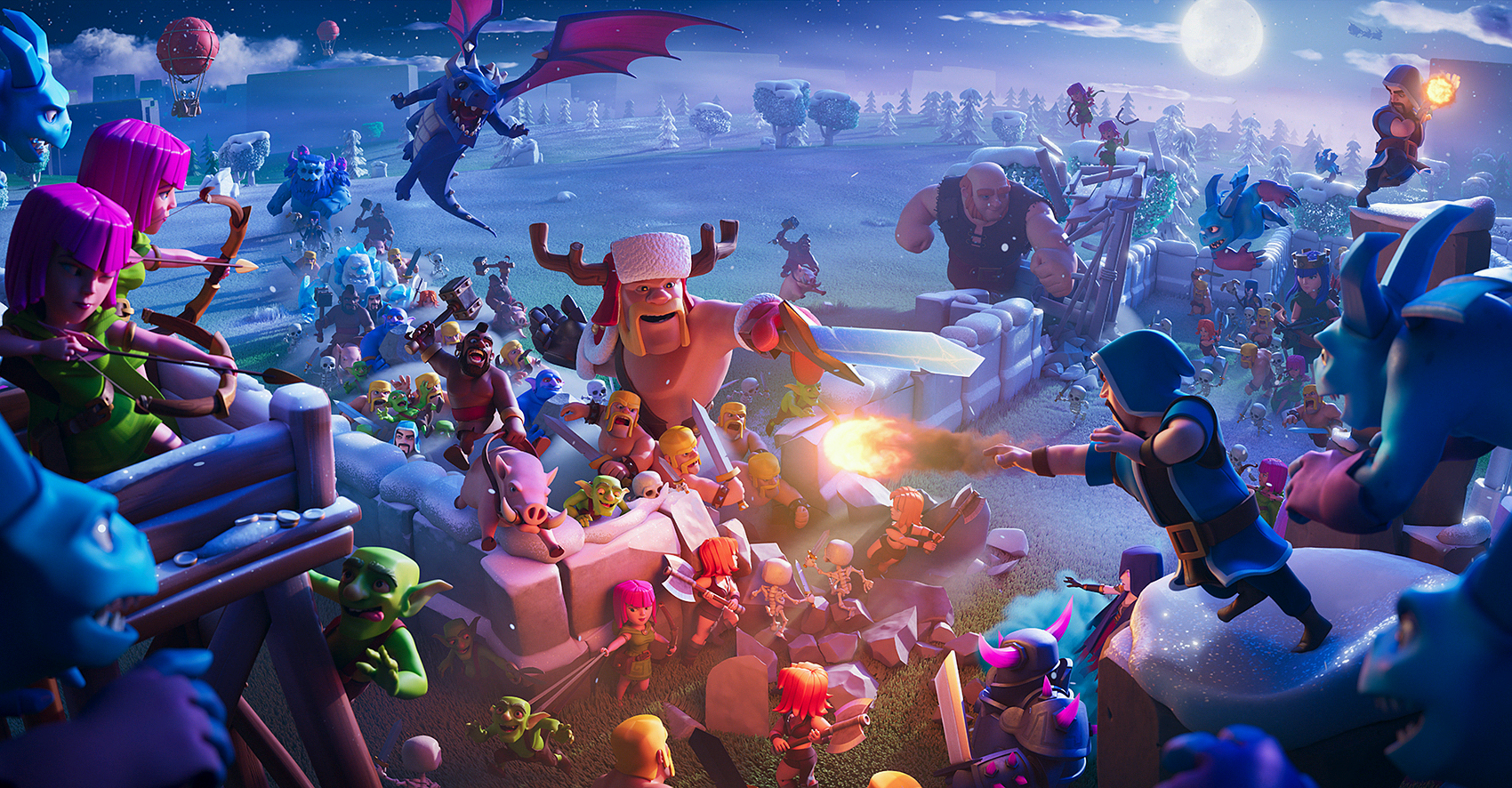 Clash of Clans 13.0.1