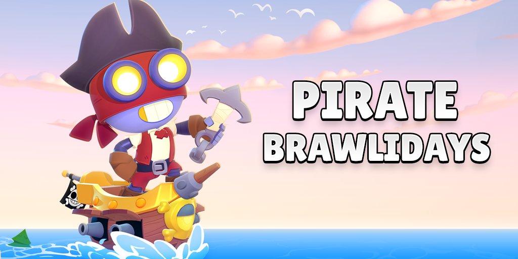Пиратское обновление Brawl Stars 24.142