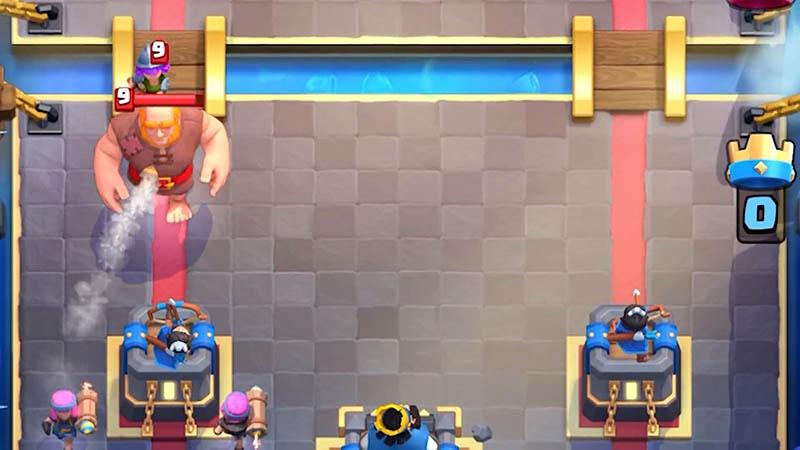 Новые тактики с Огненной лучнице в Clash Royale