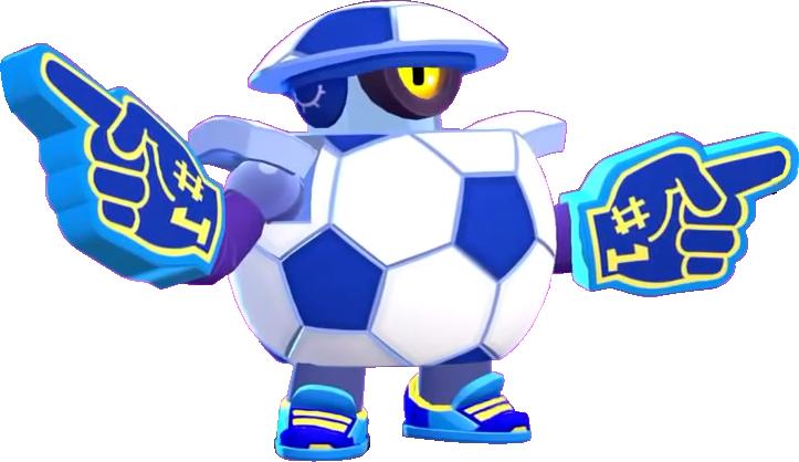 Mascot Darryl/ Талисман Дэррил - Brawl Stars