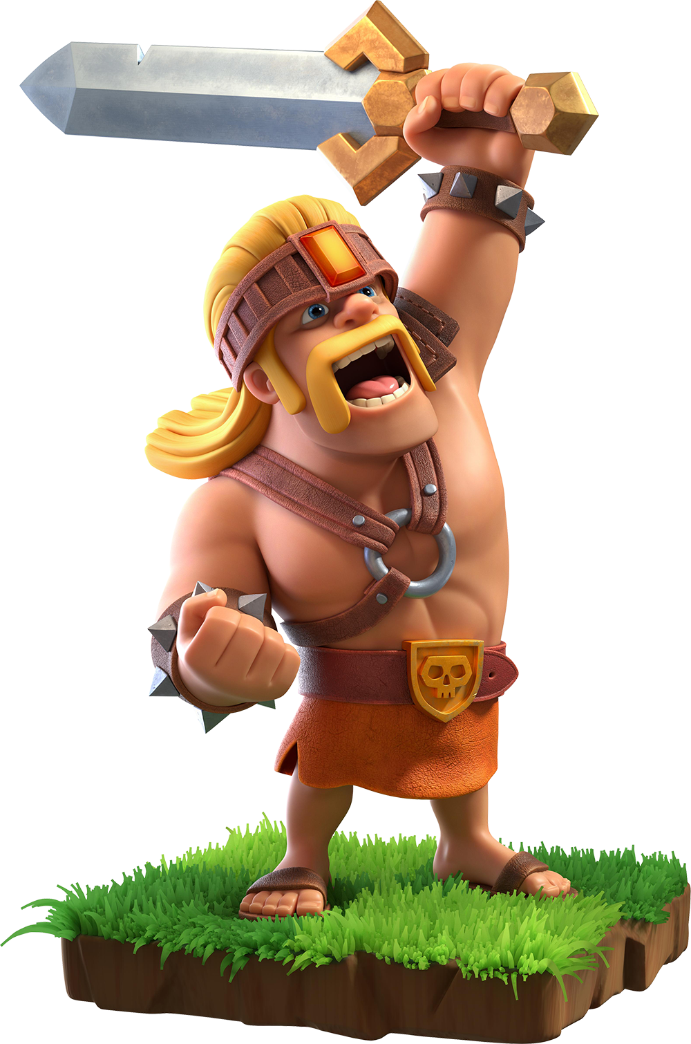 Super Barbarian/ Суперварвар - Clash of Clans