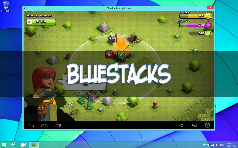 bluestacks clash of clans