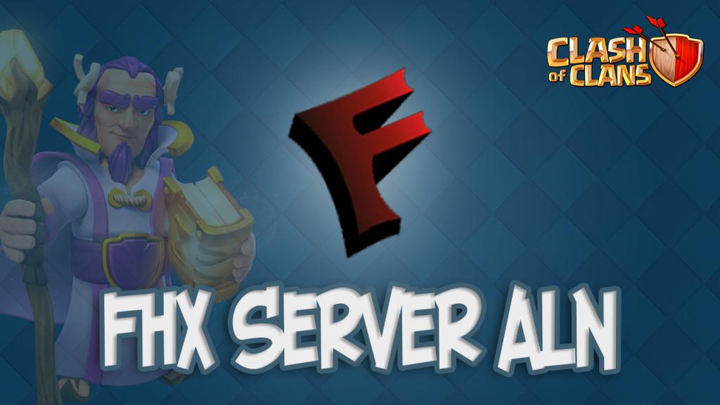 Новый FHX сервер ALN
