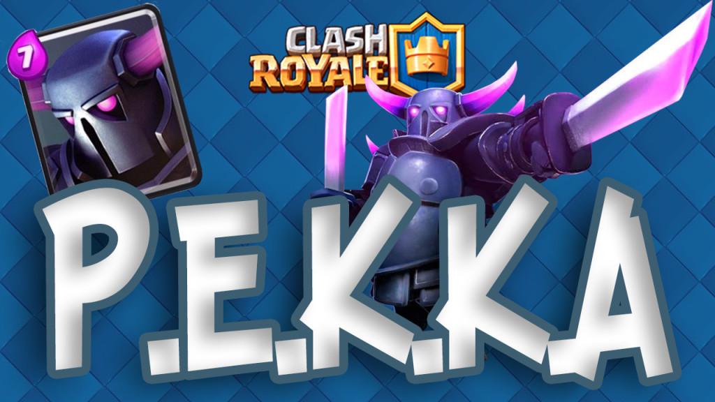 Clash Royale PEKKA/ пекка