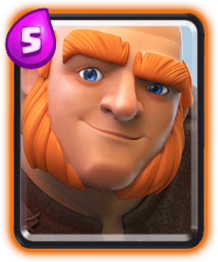 Clash Royale Giant/ Гигант