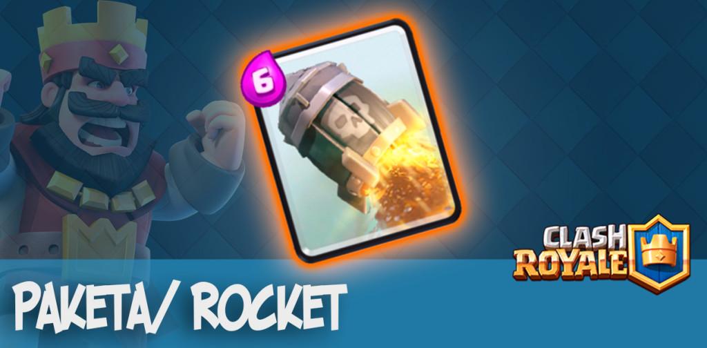 Ракета Rocket Clash Royale
