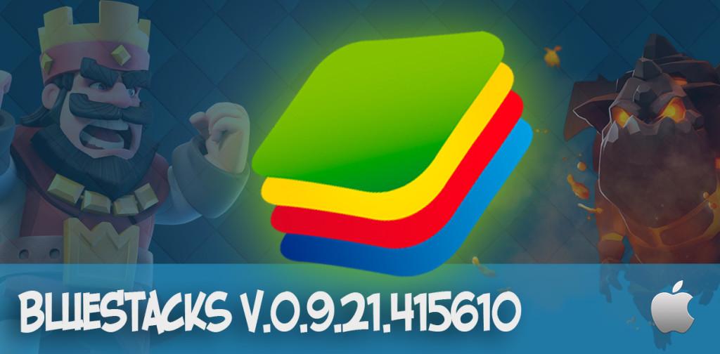 BlueStacks 0.9.21.415610 mac os