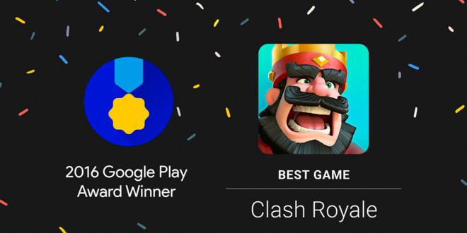 Google Play Award Clash Royale Winner