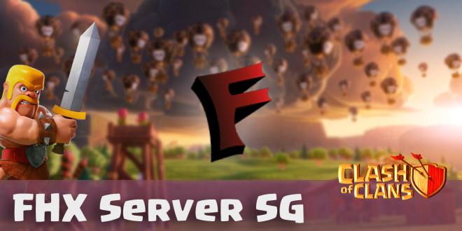 Новый FHX Server SG