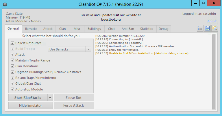 BoostBot 7.15.1 Revision 2229