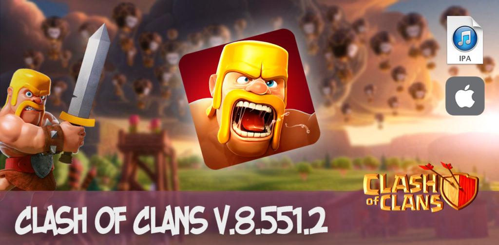скачать clash of clans v.8.551.2 ipa