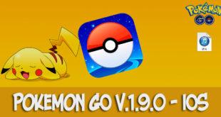 pokemon go v.1.9.0 ios