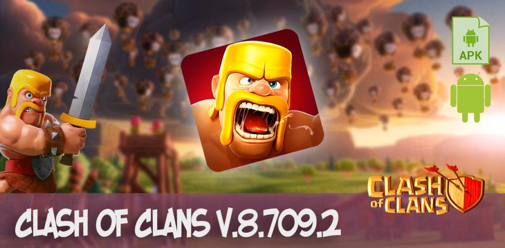 clash of clans v.8.709.2