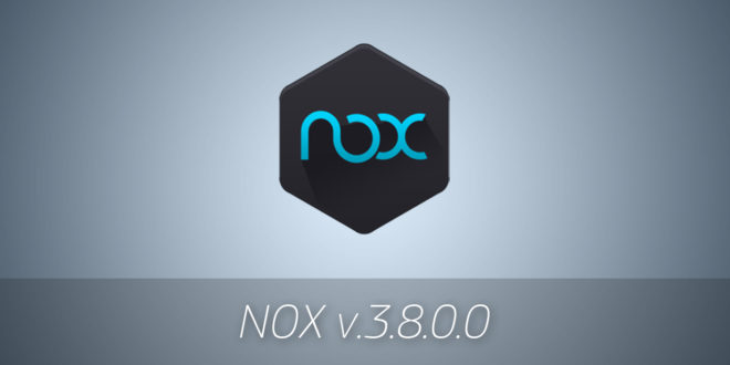 NOX v.3.8.0.0 - Эмулятор Android