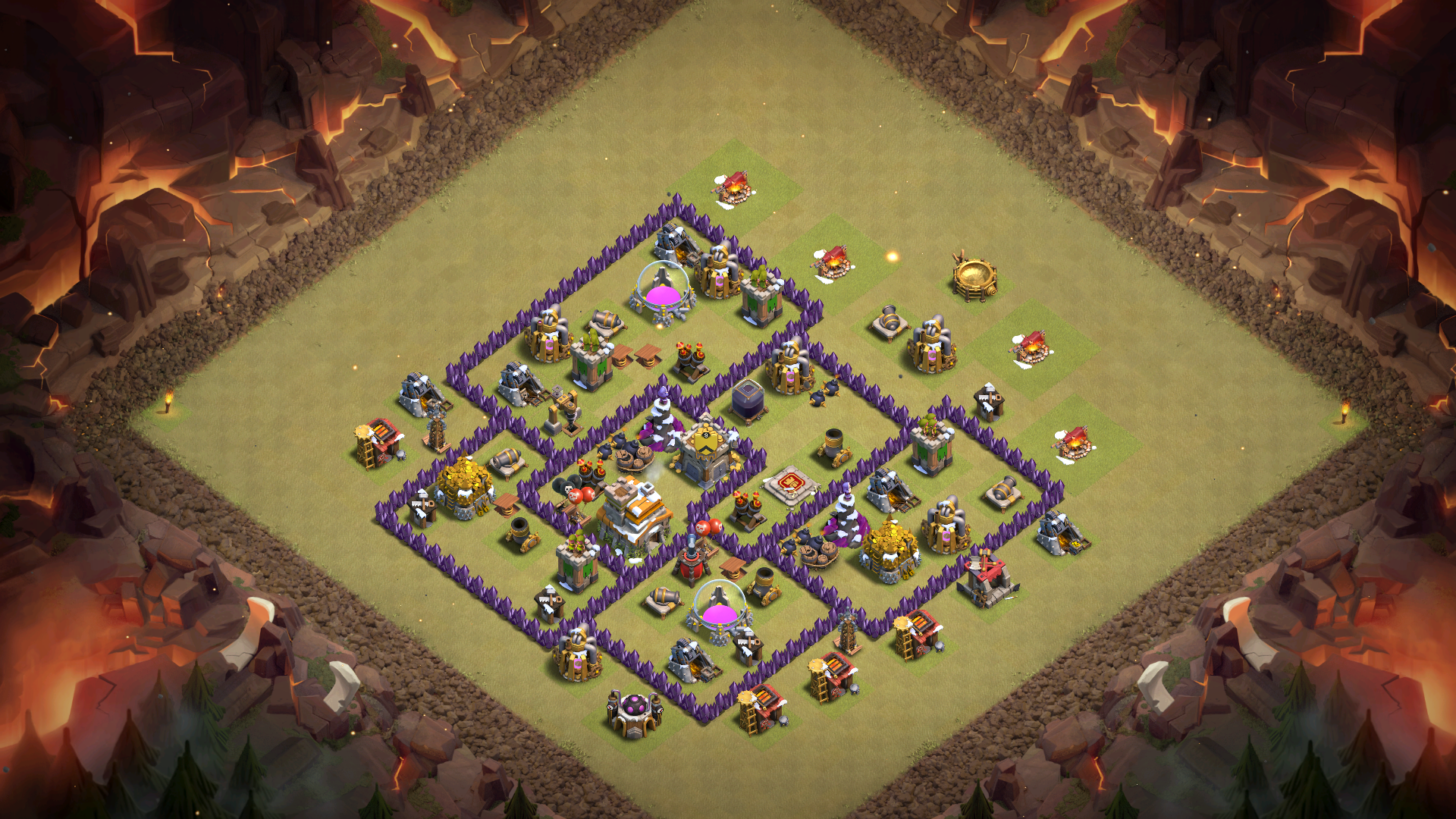 Clash of Clans Base 7th