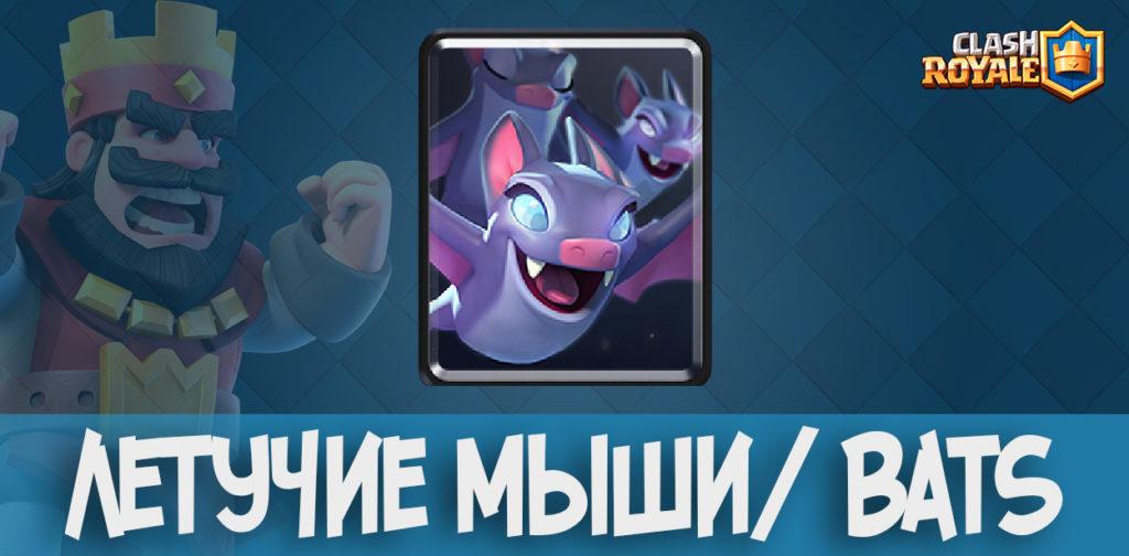 Летучие мыши/ Bats в Clash Royale