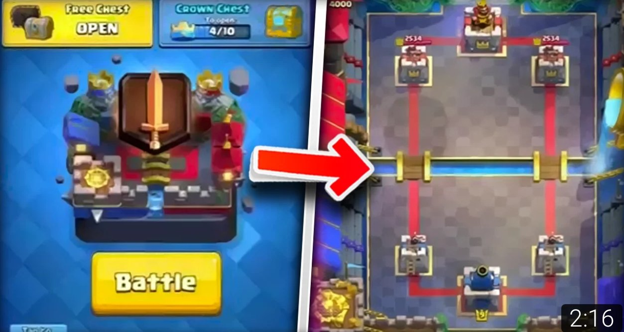 New Arena Clash Royale