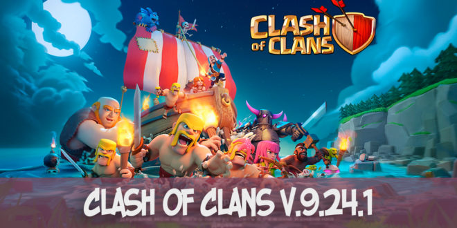 Clash of Clans v.9.24.1